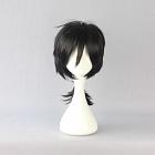 Medium Straight Black Wig (7407)