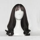Long Wavy Black Wig (8736)