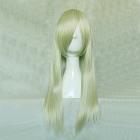 Long Straight Light Blonde Wig (8605)