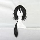 Long Black Wig (8608)
