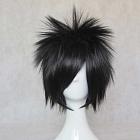 Short Straight Black Wig (8442)