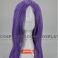 62 cm Long Purple Wig (7989)