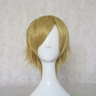 Short Straight Blonde Wig (8468)