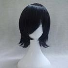 Short Straight Black Wig (8498)
