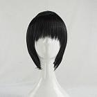 Short Straight Black Wig (8482)