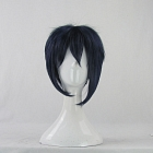 Short Straight Black Wig (8490)