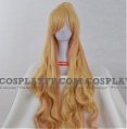 Long Straight Pony Tail Blonde Wig (8118)