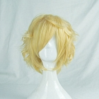 Short Straight Blonde Wig (8403)
