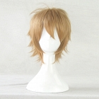 Short Straight Blonde Wig (8426)