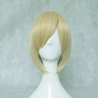 Short Straight Blonde Wig (8446)