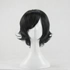 Short Curly Black Wig (8445)