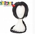 Long Black Braid Wig (5243)