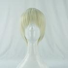 Short Straight Light Blonde Wig (8393)