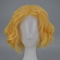 30 cm Short Curly Blonde Wig (8223)