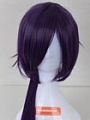 Long Purple Pony Tail Wig (8692)