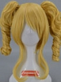Short Curly Blonde Pony Tail Wig (7703)