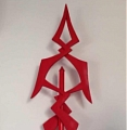 Remilia Scarlet Cosplay Costume Spear from Touhou Project (1667)
