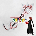 Axel Cosplay Costume Sword from Kingdom Hearts (4009)