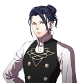 Felix Hugo Fraldarius Cosplay Costume from Fire Emblem: Three Houses
