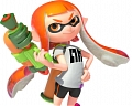Splatoon Inklings Perruque (Orange)