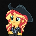 Sunset Cosplay Costume (Cowgirl) from My Little Pony