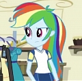 Rainbow Dash Cosplay Costume (2nd) from My Little Pony
