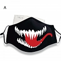 VENOM Face Mask for Adults (Cotton, Washable, Reusable) from Venom