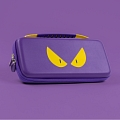 Purple Evil Eyes Nintendo Switch and Switch Lite Carrying Case 8~10 Game Cards Holding