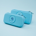 Soft Blue Nintendo Switch and Switch Lite Carrying Case 8~10 Game Cards Holding