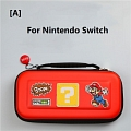 Red Super Mario Nintendo Switch and Switch Lite Carrying Case 8~10 Game Cards Holding