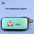 Green Kirby Nintendo Switch and Switch Lite Carrying Case 8~10 Game Cards Holding