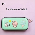 Green Kanahei Nintendo Switch and Switch Lite Carrying Case 8~10 Game Cards Holding