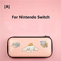 Pink Cinnamoroll Nintendo Switch and Switch Lite Carrying Case - 8 Game Cards Holding