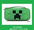 Minecraft Nintendo Switch Carrying Case - 10 Game Cards Holding
