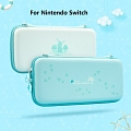 Blue Icy Animal Forest Nintendo Switch Carrying Case - 10 Game Cards Holding