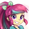 Sour Cosplay Costume from My Little Pony Equestria Girls