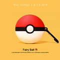 Lovely Fairy Ball | Silicone Case for Apple AirPods 1, 2, Pro (81221)