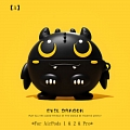 Cute Evil Dragon | Airpod Case | Silicone Case for Apple AirPods 1, 2, Pro (81264)