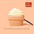 Lovely McDonald's Ice Cream | Airpod Case | Silicone Case for Apple AirPods 1, 2, Pro (81395)