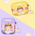 Lovely Girl with Cake | Airpod Case | Silicone Case for Apple AirPods 1, 2, Pro (81515)
