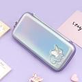 Unicorn Purple Nintendo Switch Carrying Case - 10 Game Cards Holding - PU EVA
