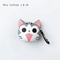 Lovely Gatto Chi's Dolce Home | Airpod Case | Silicone Case for Apple AirPods 1, 2, Pro Cosplay (81596)
