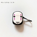 Lovely No Face brioso Away | Airpod Case | Silicone Case for Apple AirPods 1, 2, Pro Cosplay (81623)