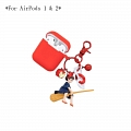 Lovely Kiki's Delivery Service | Airpod Case | Silicone Case for Apple AirPods 1, 2, Pro コスプレ (81638)