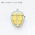 Lovely Durian Fruit | Airpod Case | Silicone Case for Apple AirPods 1, 2, Pro Cosplay (81775)