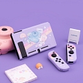 Purple Nintendo Switch Shell Protection Cover - Selfie Mouse