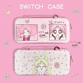 Cute Cartoon Sailor Moon Chibi Moon Nintendo Switch Carrying Case - 12 Game Cards Holding