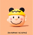 Lovely Charlie Snoopy Airpod Case | Silicone Case for Apple AirPods 1, 2, Pro