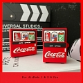 Lovely Coca Cola vending machine Airpod Case | Silicone Case for Apple AirPods 1, 2 and Pro