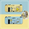 Yellow Pokemon Pikachu Blue Turtle Switch Shell Protection Cover - TPU